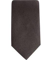 dolce & gabbana silk-twill tie - grey