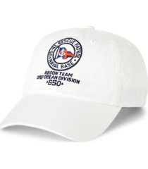polo ralph lauren men's nautical chino ball cap
