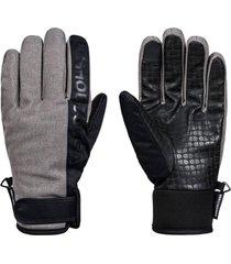 guante deadeye glove m gris dc