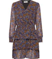 flame print dress kort klänning multi/mönstrad modström