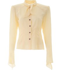 dolce & gabbana shirt with padded shoulders