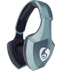 audífonos bluetooth estéreo hd manos libres inalámbricos, s33 on-ear auriculares estéreo inalámbricos audifonos bluetooth manos libres  con luz de flash led audifonos (verde)