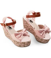 sandalias adulto femenino rosado marketing personal