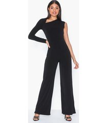 nly one asymmetric cut jumpsuit jumpsuits