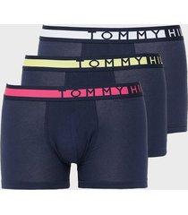 tommy hilfiger 3p trunk boxershorts flerfärgad