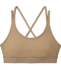 women's tory sport by tory burch melange cross back bra