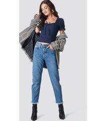 rut&circle louisa straight jeans - blue