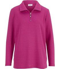 sweatshirt dress in rosa