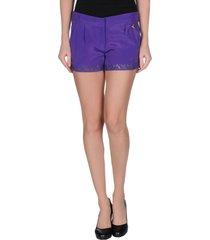 violet atos lombardini shorts & bermuda shorts