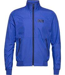 crew windbreaker jacket outerwear sport jackets light jackets blauw helly hansen