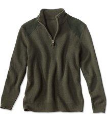 clays quarter-zip sweater / clays quarter zip sweater, olive, xx large