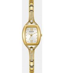 zegarek analogowy z kryształkami
