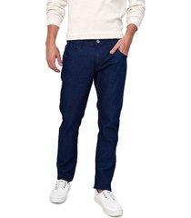 calã§a jeans forum slim azul-marinho - azul marinho - masculino - algodã£o - dafiti