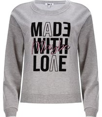buzo mujer maybe color gris, talla xs