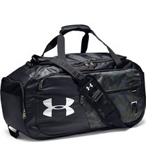maletin under armour duffel 4.0 medium - negro camuflado