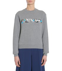 carven round collar sweatshirt