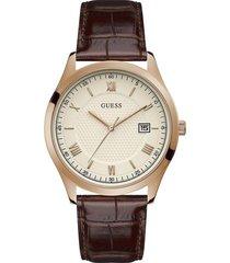 reloj guess hombre element/gw0065g1 - marrón