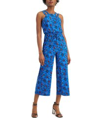 bar iii cropped double-strap jumpsuit, created for macy's
