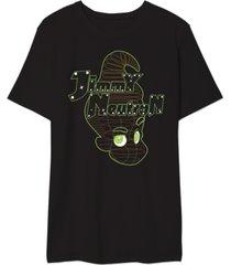 jimmy neutron men's graphic t-shirt