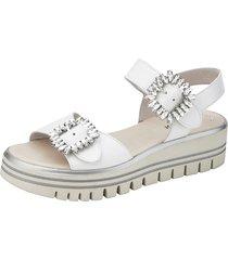 sandaletter gabor vit