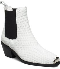 boot shoes boots ankle boots ankle boot - heel vit sofie schnoor