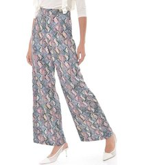 pantalon para mujer en twill multicolor color-multicolor-talla-6