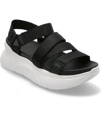 w la shores shoes summer shoes flat sandals svart ugg