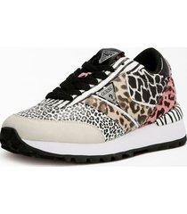 buty do biegania w zwierzęcy print model samsin