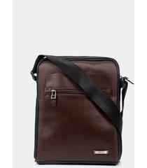 bolso maletín portátil baler de cuero para hombre