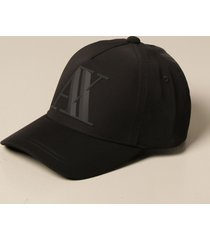 armani collezioni armani exchange hat armani exchange baseball cap with big logo
