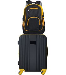 "mojo licensing 21"" carry-on hardcase spinner luggage & laptop backpack set"
