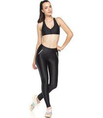 legging fitness zíper reflect