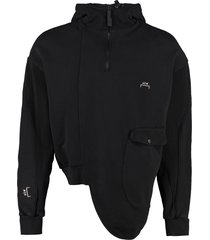 a-cold-wall cotton full zip hoodie