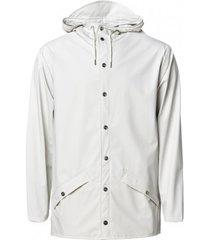rains regenjas jacket off white