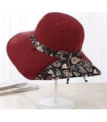 mujeres de verano 's súper gran ala sombrero para el sol sombrero de moda