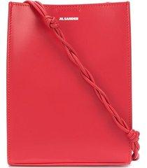 jil sander tangle structured shoulder bag