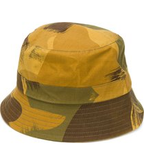 ymc all-over print hat - green