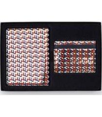tommy hilfiger women's monogram passport and card holder metallic monogram -