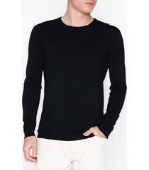 tailored originals knit - mont o neck tröjor black