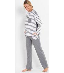pyjama met oversized shirt (2-dlg. set)