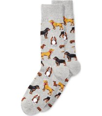 hot sox men's socks, cats and dogs slacks
