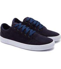 tenis lisos azul color azul, talla 38