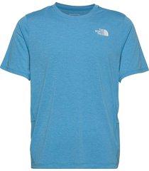 m bridger s/s t-shirts short-sleeved blå the north face