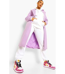 getailleerde jas, lilac