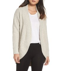 women's ugg fremont cardigan, size small - beige