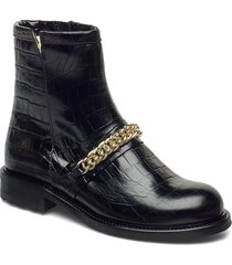 warm lining 95891 shoes boots ankle boots ankle boot - flat svart billi bi