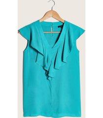 blusa con boleros verde 4