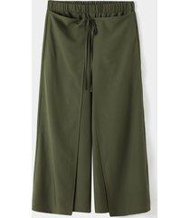 yoins basics hombre vendimia estilo tailandés suelto con gradas diseño pescador pantalones