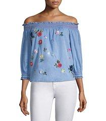 citra embellished blouse