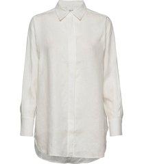 lune ls shirt overhemd met lange mouwen crème second female
